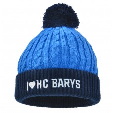 Шапка фактурной вязки I LOVE HC BARYS
