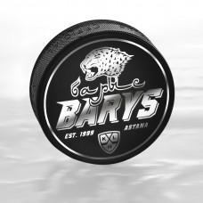 Шайба хоккейная RUBENA (Серебристая)