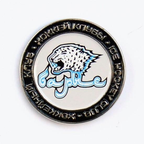 Сувенирный значок метал Барыс