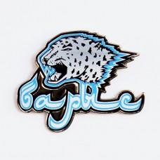 Сувенирный значок метал Барыс Лого