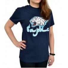Футболка женская с изображением логотипа